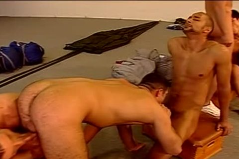 Gym group homosexual penetration
