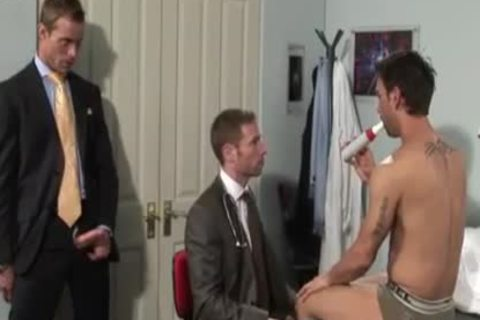 beautiful Office trio fucking & Cumming