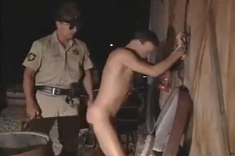 Cop nails His Arrestee (vintage)