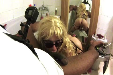 Sissy Mya drink suck Jack One Hour Since A lengthy Time