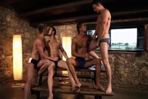 yummy gay DP With cum flow
