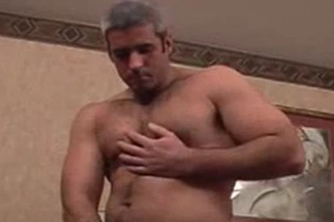 Straight Silver pumped up Bear gets Teased
