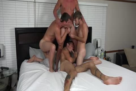 A couple AND TWO allies pounding ON webcam