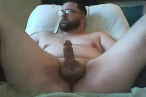 submissive Chub bare Edging And Cumming